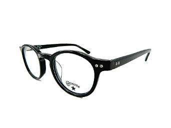 Converse glasses with Round Black Frame