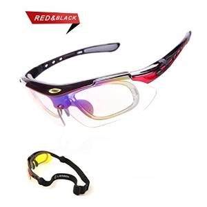 Sports Sunglasses Glasses with 5 Set Interchangeable Lenses for all outdoor Activities