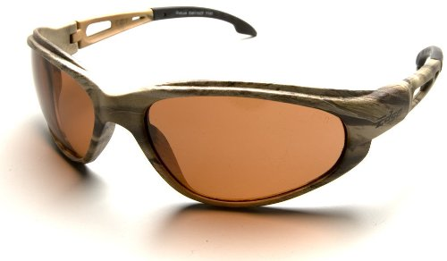Edge Dakura Safety Glasses Camo Frames Polarized Copper Lens