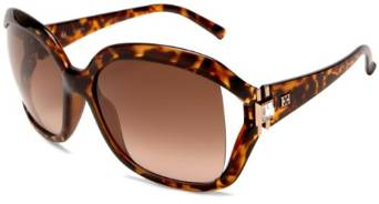 Escada Dark Havana Square Sunglasses