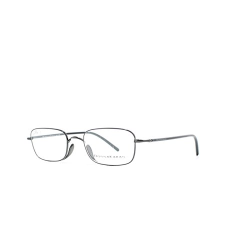 Donna Karan Dark Gray Rectangular Unisex Eyeglasses