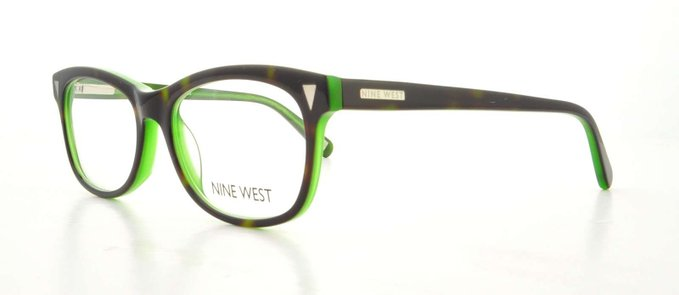 Nine West Demi Green Eyeglasses