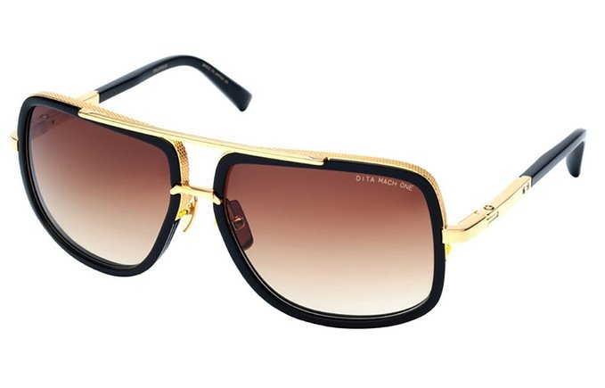 Dita Mach One Aviator Sunglasses