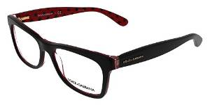 Dolce and Gabbana Black and Grey Square Sunglasses