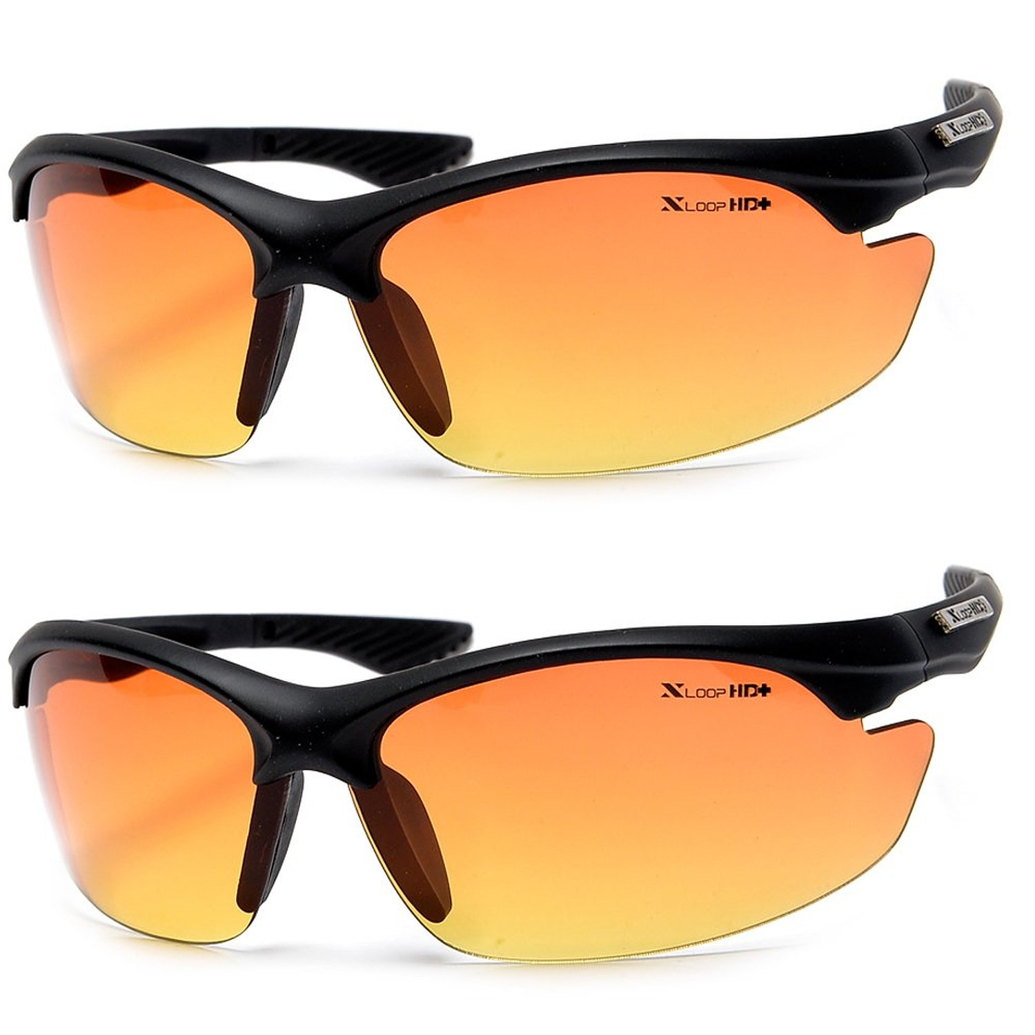 Xloop HD Vision Anti Glare Driving Sunglasses - Semi Rimless