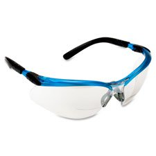 1.5 Diopter safety-glasses With Silver And Black Frame
