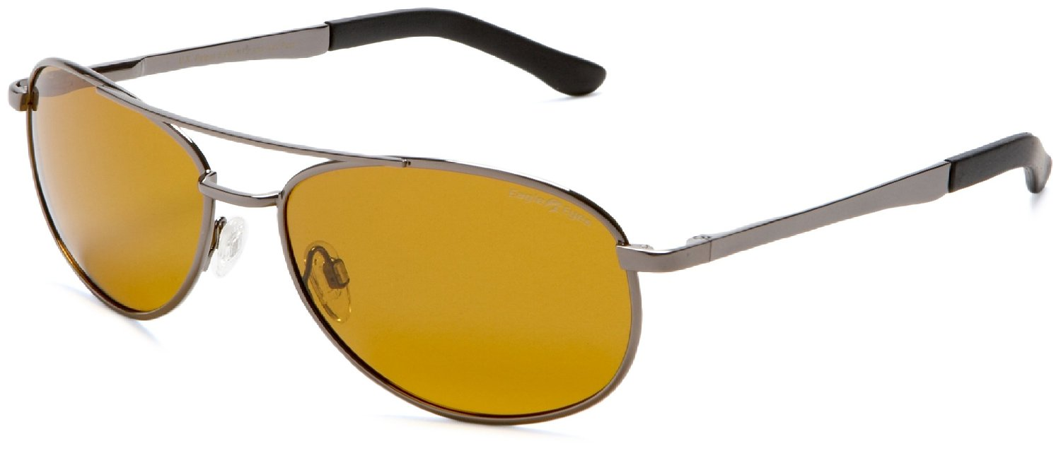 Eagle Eyes Gunmetal Sunglasses