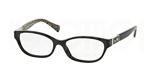 Coach Emma Black Military Eyeglasses