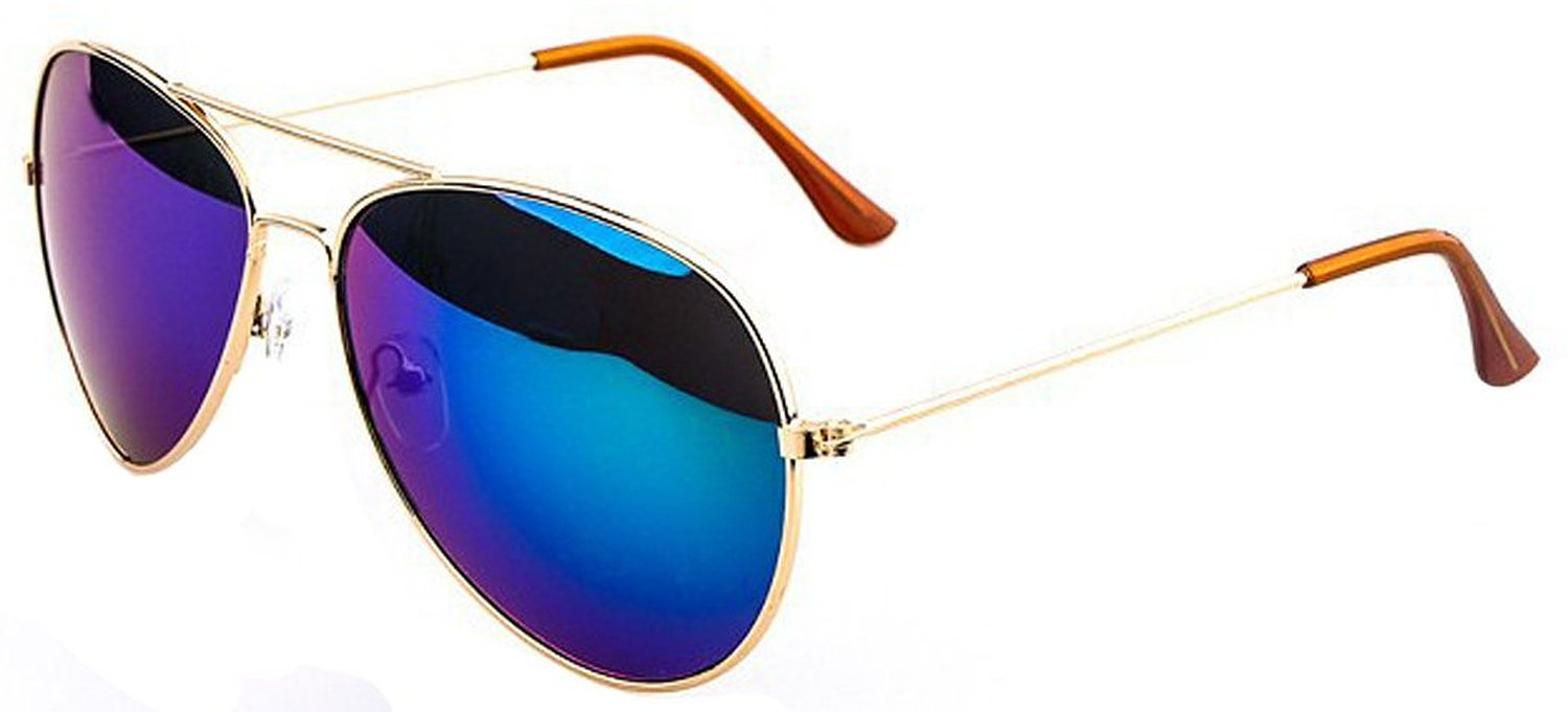 Color Film Inisex Sunglasses