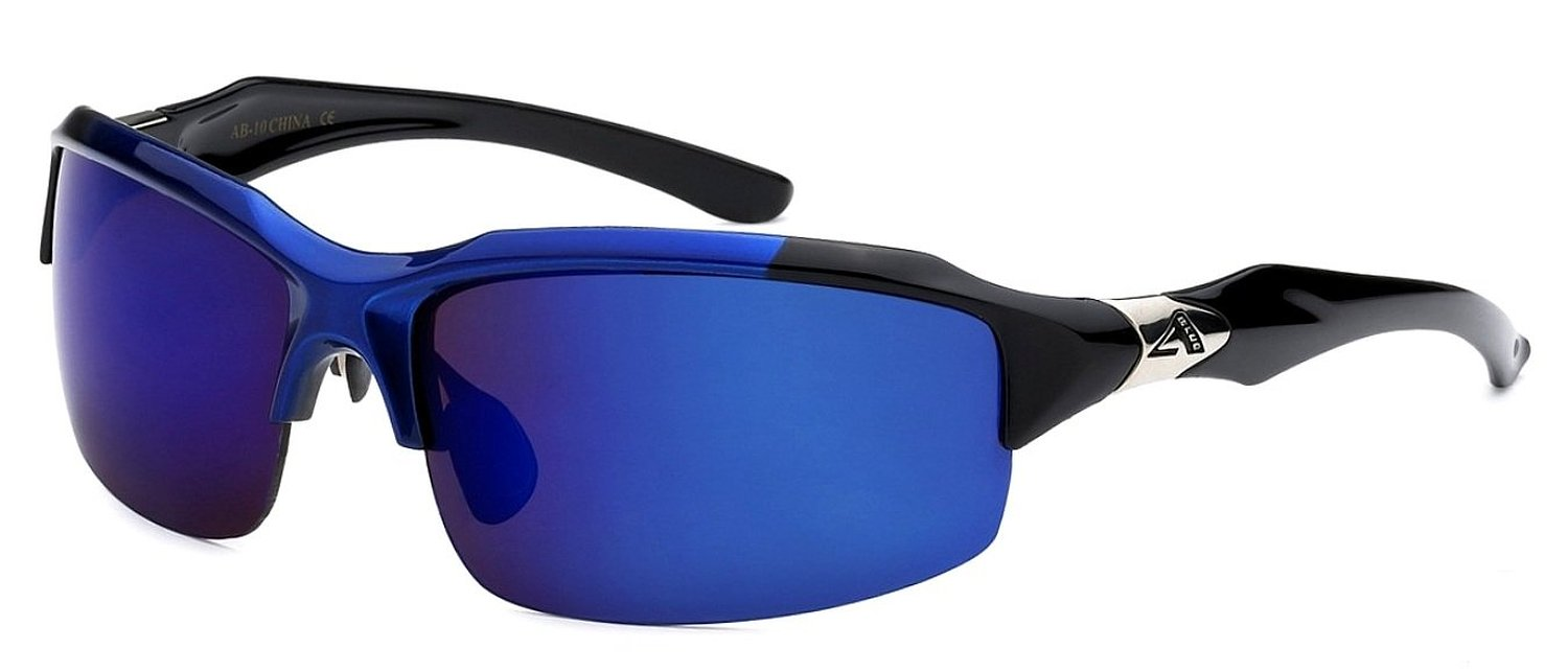 Arctic Blue Mens Fashion Sports Sunglasses are ideal for fishing