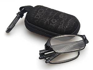 Mini Slim Flip Top Stylish Reading Glasses