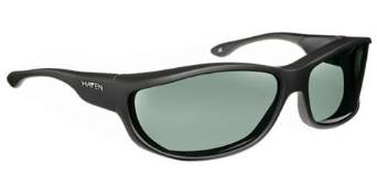 Haven Foxen Rubberized  Black Sunglasses