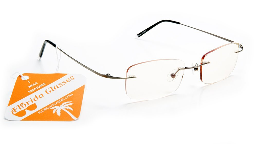 Almost Invisible Frame-less Reading Glasses