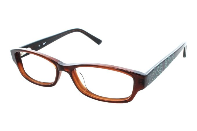 Freaky Frankie Transparent Brown Candies Womens Eyeglasses