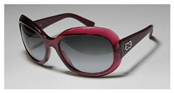 Escada Full Rim Dark Rose and Burgundy Sunglasses