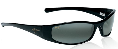 Glossy Black Maui Jim Designer Sunglasses