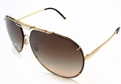 Glorious Gold Havana Dolce and Gabbana Shades