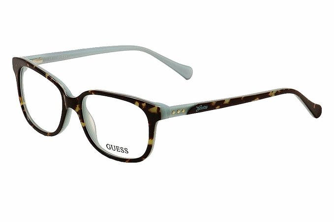 Guess Tortoise Blue Eyeglasses