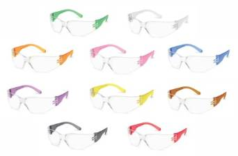 Ten Pack of Super Cute and Colorful Gumball Safety Glasses by Starlite