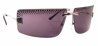 Laura BiagiottiGun Smoke Designer Sunglasses