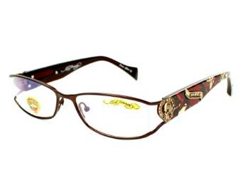 Matte Brown Women Designer Eyeglasses