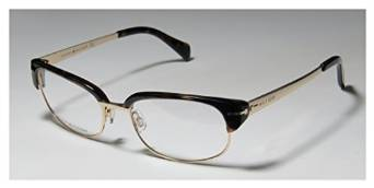 Dark Havana Gold Eyeglasses by Tommy Hilfiger