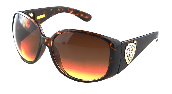 Foster Grant Glorious Heart Sunglasses