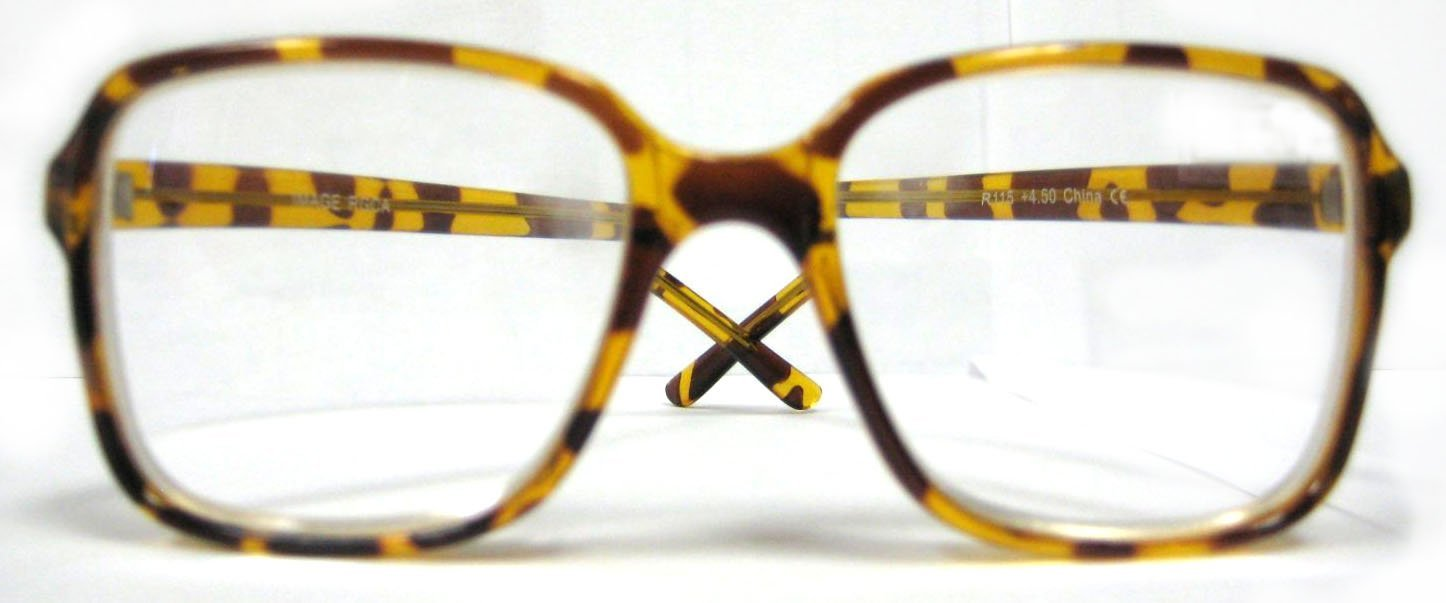 High Magnification Round Unisex Readers