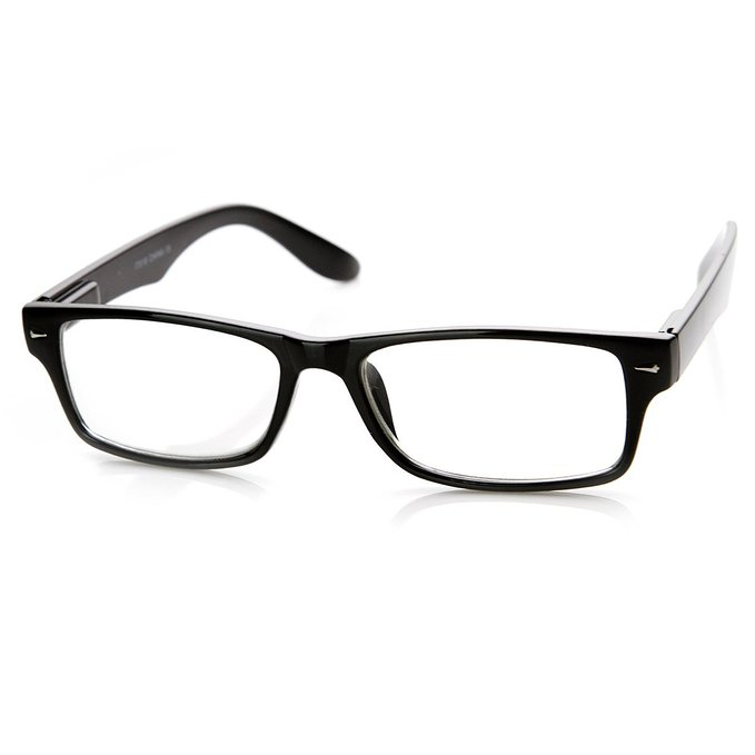 zeroUV Horn Rimmed Reading Glasses
