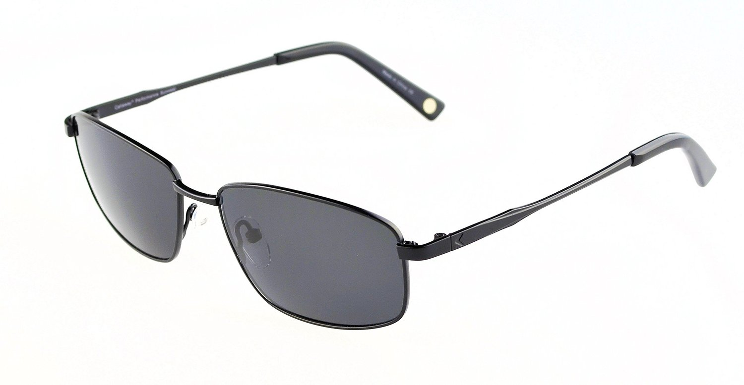 Callaway Hosel Sunglasses Black Frame, Grey Polarized Lenses