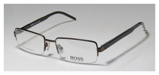 Hugo Boss Half Rim Eyeglasses