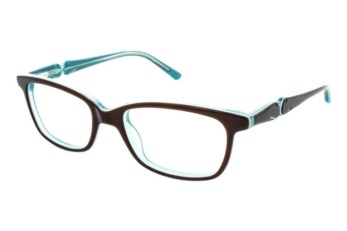 Candies Kris Brown Tortoise Eyeglasses