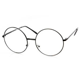 Large Metal Framed Eyeglasses