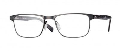Paul Smith Gunmetal and Coal Levene Eyeglasses