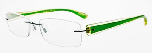 Lovely Lime Green Glasses with Case