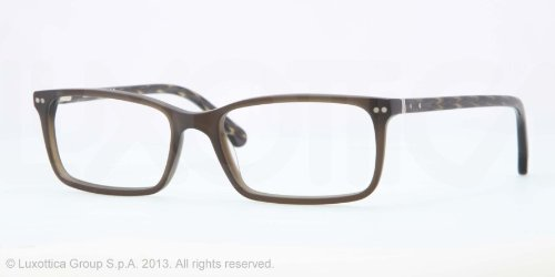 Brooks Brothers Matte Olive Glasses