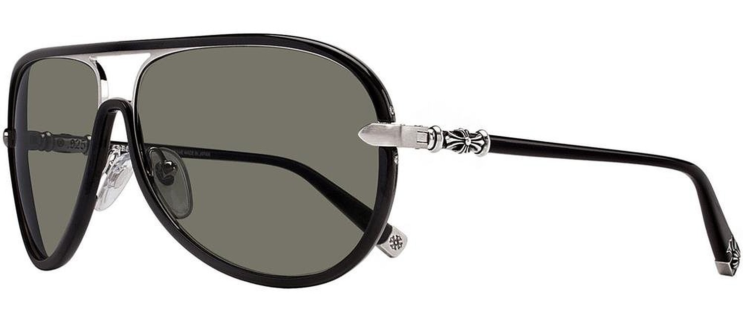 Chrome Hearts M.Flaps Black Sunglasses