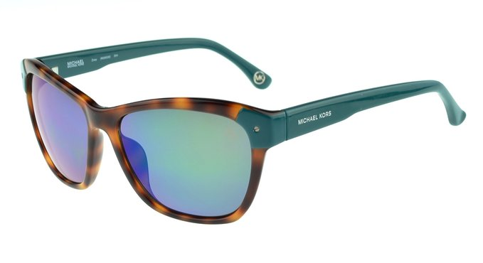 Michael Kors green Zoey Sunglasses