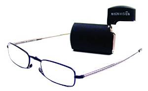 Small Microvision Reading Glasses with Case