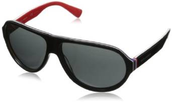 Multi Layer Red Dolce and Gabbana Aviator Sunglasses