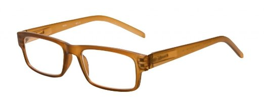 SightLine Spring Hinge Plastic Reading Glasses with High Tech Progressive Power Lens.
