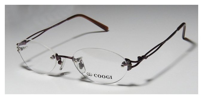 Paolo Gucci Designer Rimless Glasses