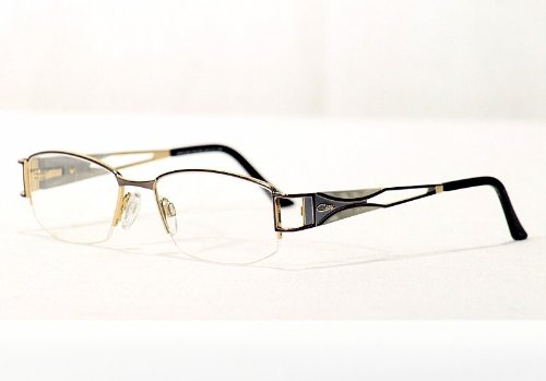 Cazal Anthracite Eyeglasses Silver Pearl Optical Frame