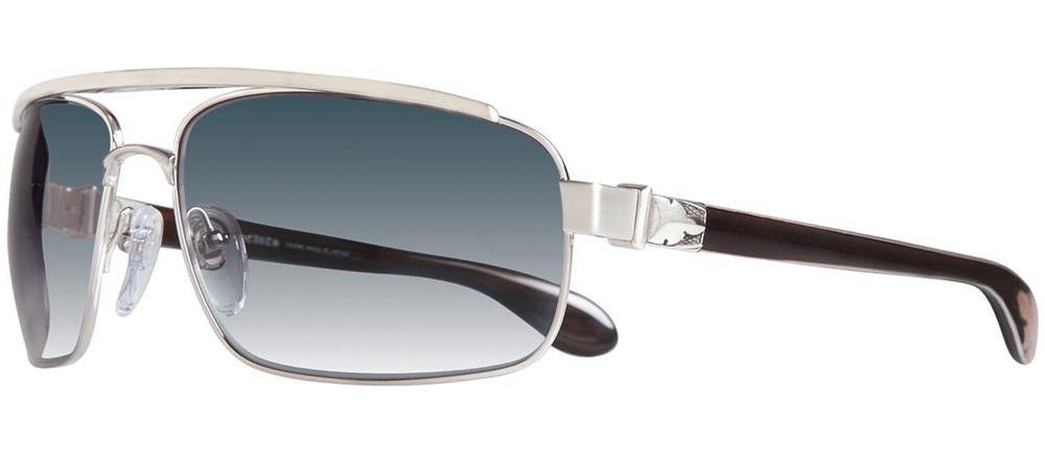 Chrome Hearts Penetration Brushed Silver Sunglasses