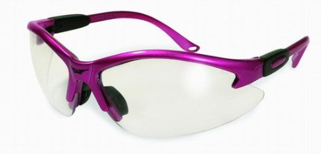 Pink III Cougar Safety Glasses