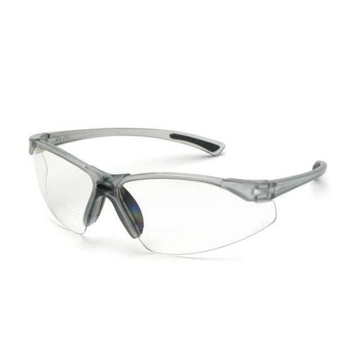 Bifocal Safety Glasses in Polycarbonate clear Lens +1.5 Diopter