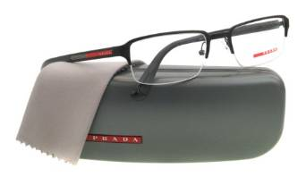 Black Prada PS51DV Eyeglasses