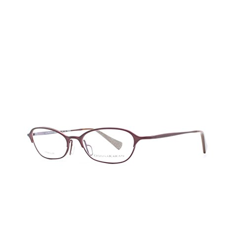 Donna Karan Purple Cateye Eyeglasses