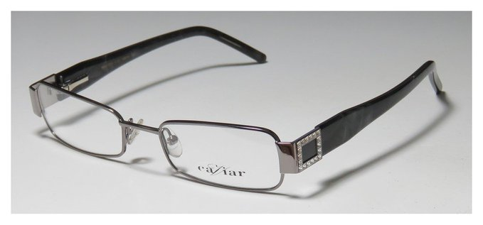 Caviar Rectangular Full Rim Eyeglasses