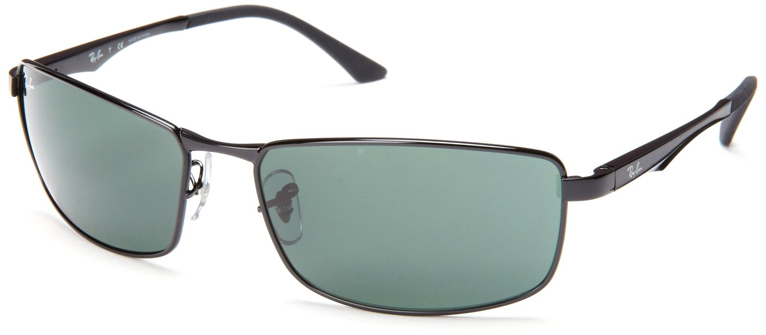 Ray Ban Rectangular Polarized Sunglasses